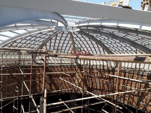 سقف شفاف - istgah.com - مصالح ساختمانی