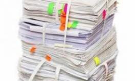 مرکز خرید انواع کاغذ باطله کتاب دفتر اوراق اداری