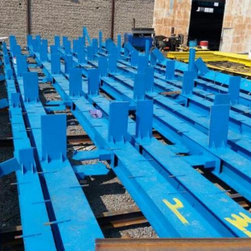 ساخت و نصب اسکلت های فلزی و سازه نگهبان و سوله