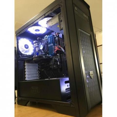 کیس کامپیوتر قوی طراحی، مهندسی و رندر + گارانتی