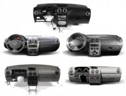 فروش انواع داشبورد کامل خودرو