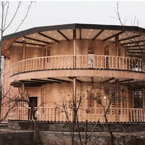 خانه چوبی   پیش ساخته چوبی پیش ساخته