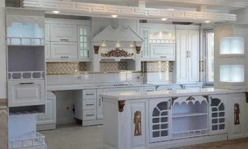 طراحی و ساخت کابینت آشپزخانه نوین کابین