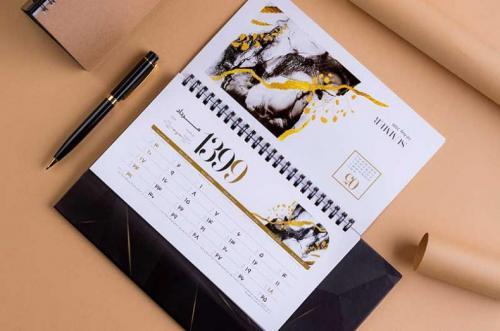 تقویم رومیزی - تقویم رومیزی 99 - واحد سالنامه برگ