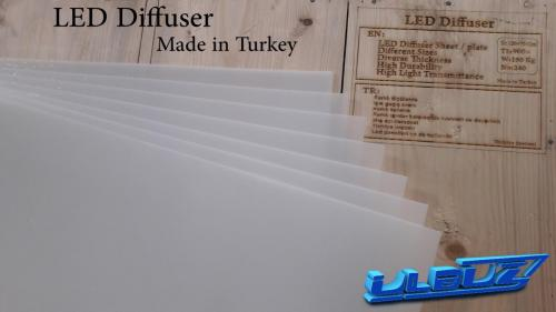 دیفیوزر LED ساخت ترکیه (طلق LED)