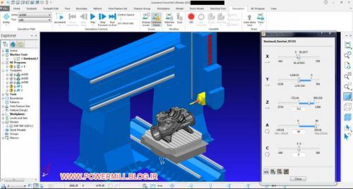 پکیج آموزش CNC چهار و پنج محور