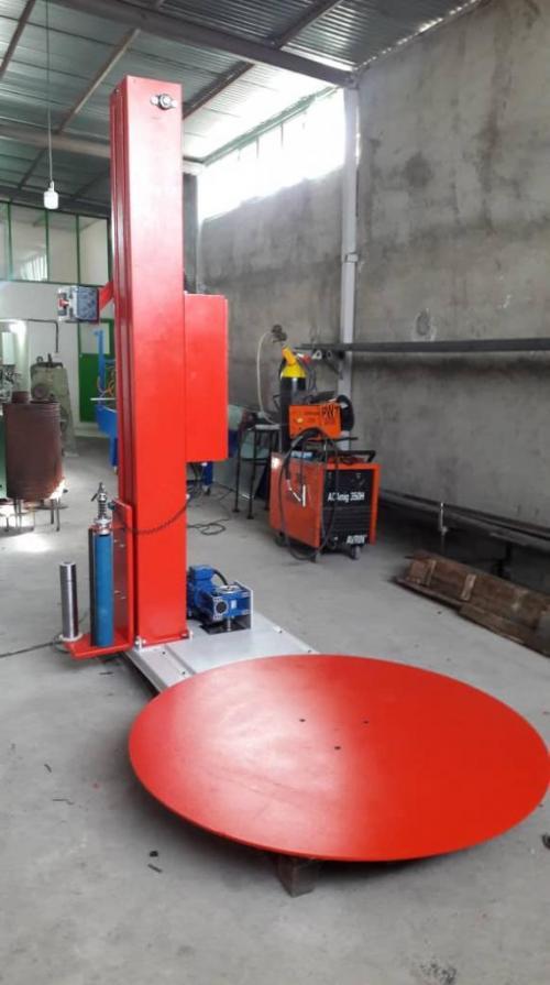 طراحی و ساخت دستگاه استرچ پالت