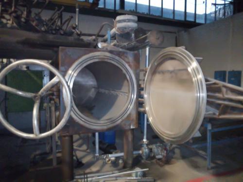 فروش دو دستگاه اتوکلاو،مخزن تحت فشار استیل،دیگ پخت