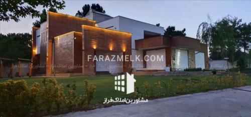 فروش باغ ویلا 10800 متری در زیبادشت