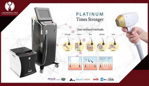 فروش دستگاه لیزر موهای زائد دایود الکس هایفو پلاتینیوم