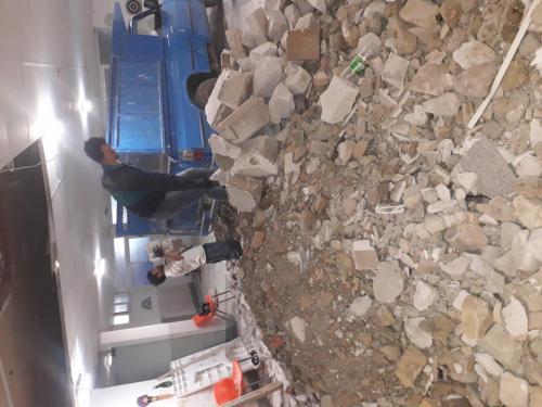 حمل نخاله و پخش مصالح ساختمانی