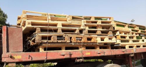 خریدار ضایعات تخته و چوب و انواع پالت